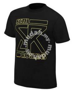 Seth Rollins Dark Black Shirt
