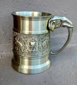 3D pewter mug