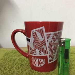119 Cawan gelas kit kat cup glass