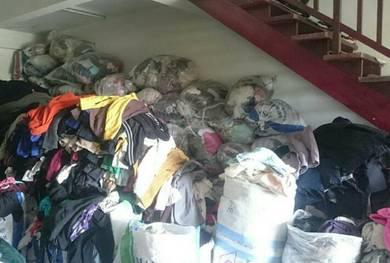 Pakaian bundle 100 karung