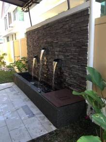 Water Feature/ Cow Grass / Pearl Grass / rumput
