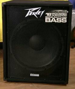 Peavey Mega Power Bass Woofer 18inch