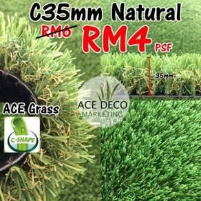 Sale Artificial Grass Rumput Tiruan C35mm Natural