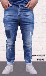 New Arrival PUC Luxury Jeans slimfit