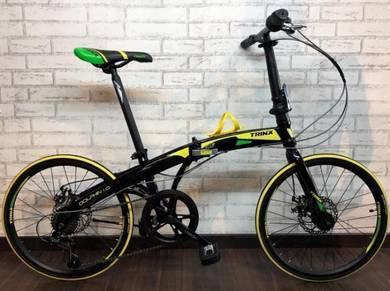 2018 Trinx dolphin folding bike 7S Shimano bicycle