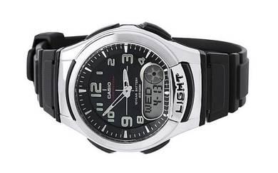 Casio World Time 10 Year Battery Watch AQ-180W-1BV