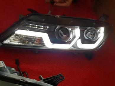 Honda city gm6 14-19 led head lamp light lights 1