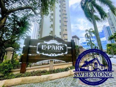 E-PARK/E PARK/EPARK 900SF 1CPk Furnish Sea View at BATU UBAN/USM