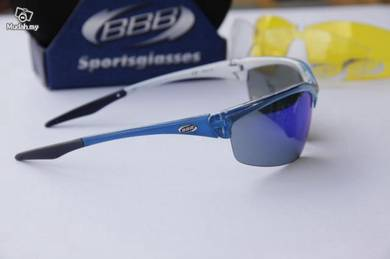 BBB Protector Crystal Blue sunglasses - 3 lenses