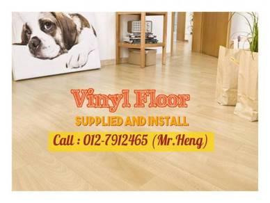 Simple Vinyl Floor with Installation 75VW