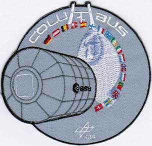 Human Space Flights STS-122 ESA Columbus DLR Patch
