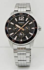 CASIO Men Multifunction Watch MTD-330D-1A3VDF