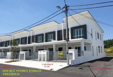 New 2 Storey Endlot, Below SPA, Freehold, Taman Pelangi Semenyih 2