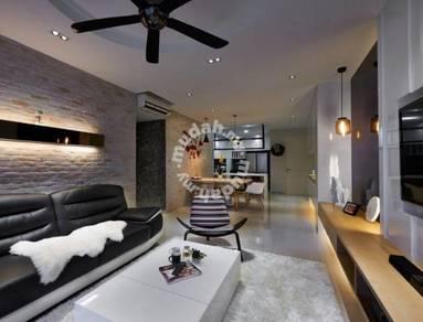 Seni Mont Kiara Condo Your Dream House, Partly Furnish, Ready Move In