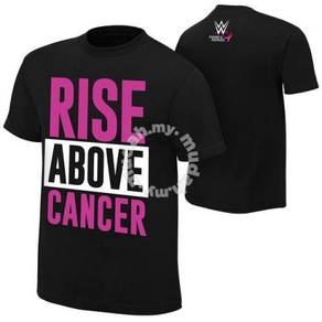 WWE WWF Rise Above Cancer T Shirt