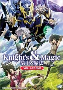 DVD ANIME Knight´s & Magic 1-12 End