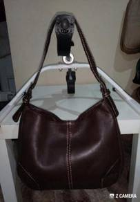 Shoulder Bag Leather Unbrand