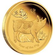 Series II 2019 Pig Gold Proof Coins