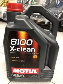 Motul 8100 X-CLEAN 5W30 Fully Synthetic Engine Oil