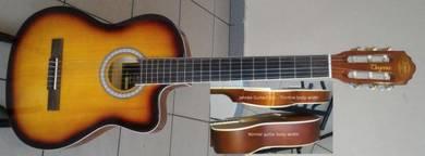 Jahnke Acoustic Nylon THINLINE Guitar 39Inch C003