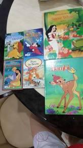 Children's story telling books by Disney(6 in 1)