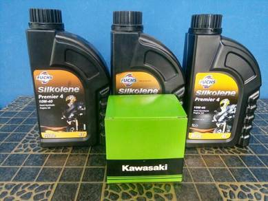 Silkolene dan oil filter ninja 250