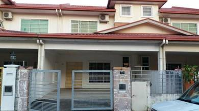 Taman Segar Double Storey Terrace House at Kolombong