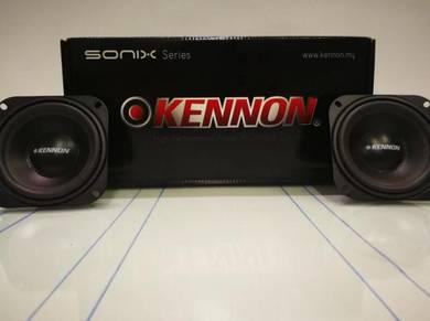 Car speaker kennon bass mid4inch 120watt