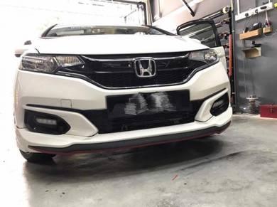 Honda jazz fl bodykit mugen rs w paint body kit