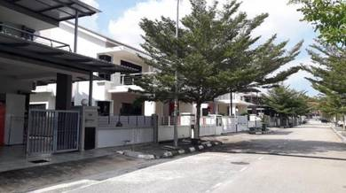 FACING PLAYGROUND GATED GUARDED 2 Storey Semi D Perdana Heights Lot 88