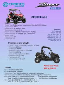 CFMoto Utility Terrain Vehicle UTV ATV ZForce 550