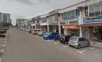 Double Storey Shop, Endlot, Taman Setia Tropika, Johor Bahru