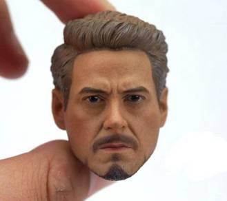 Avengers: Endgame Tony Stark 1/6 HEAD sculpt