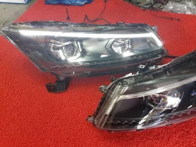 Honda accord 08-12 led head lights light lamp 1