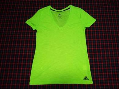 Adidas Ladies Climalite Green Tee L (Kod AX3743)