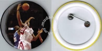 NBA Basketball Player #6 Button Badge 58mm