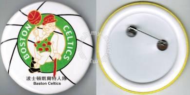 NBA Basketball Boston Celtics Button Badge 58mm