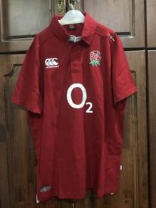 Canterbury england rugby media polo