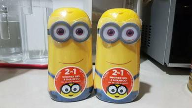 Limited Minions Shower Gel and Shampoo