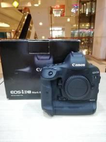 Canon eos 1dx mk ii body - 99.9% new (sc 39k only)