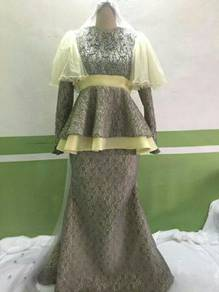 Baju pengantin custom made ( NEW )