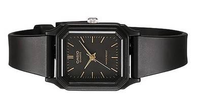 Casio Lady Classic Square Rubber Watch LQ-142-1EDF