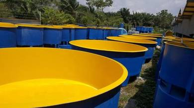 Fiberglass Fish Hatchery Tank