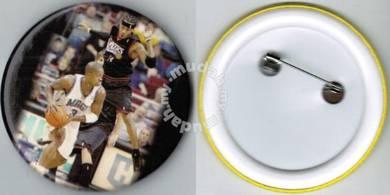 NBA Los Angeles Lakers Orlando Magic Button Badge
