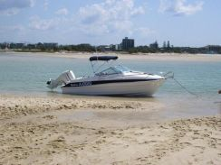 Rum Runner speed boat