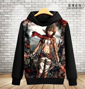 Attack of titan sweater hoodie