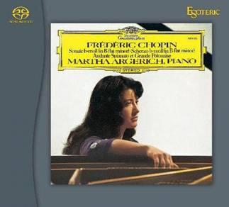 Martha Argerich Chopin Piano Sonatas No. 2 & 3 Hyb