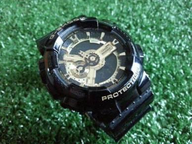 CASIO G-SHOCK GA-110GB-1A BLACK GOLD mj