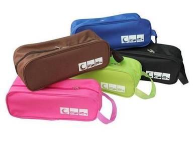Beg Kasut Sukan Sports Shoes Zip Pouch Bag
