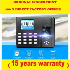 Fingerprint time recorder machine+30yr